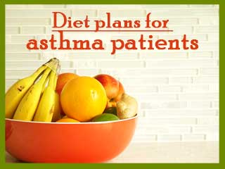 Diet plans for asthma patients